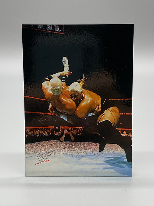 WWF Comic Images 2000 Rikishi Phatu #40 NM Wrestling Trading Card