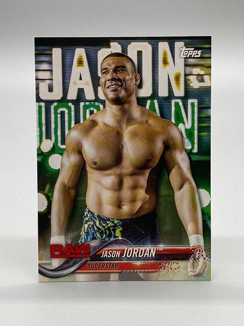 WWE Topps 2018 Then Now Forever Jason Jordan #136