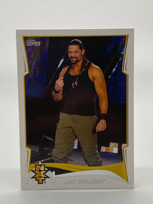 WWE Topps 2014 NXT Leo Kruger #12 of 20