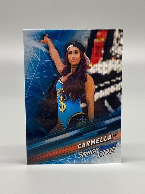 2019 Topps WWE Smackdown Live Carmella #14