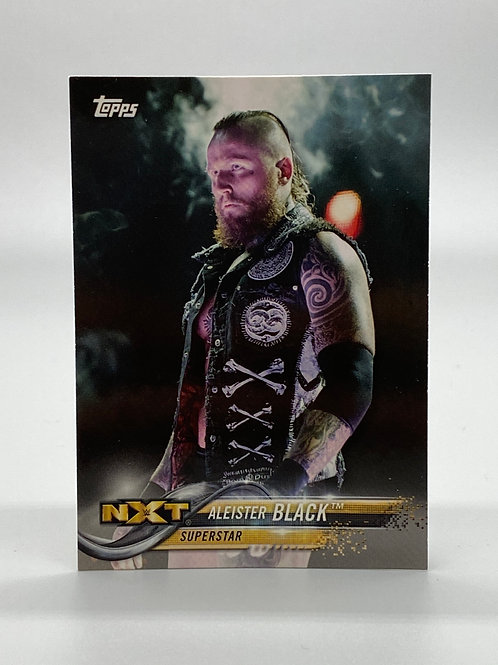 WWE Topps 2018 NXT Aleister Black #5