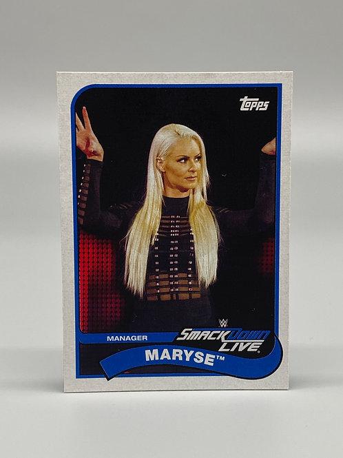 2018 Topps WWE Heritage Maryse #48