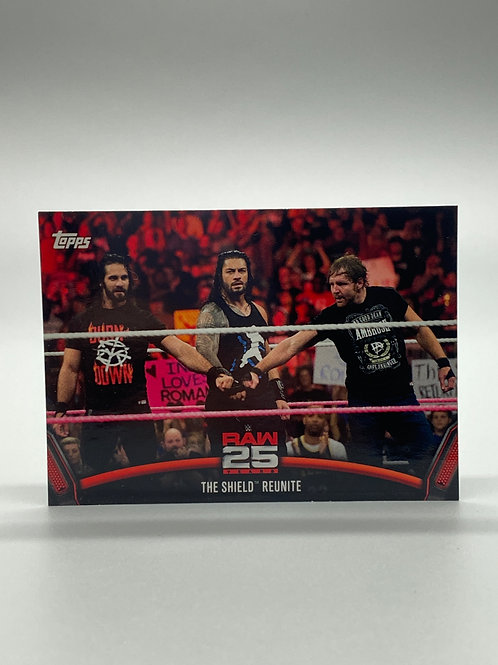 WWE Topps 2018 Then Now Forever The Shield Reunite #RAW-48
