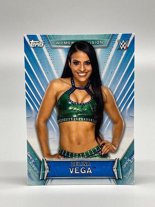 2019 Topps WWE Women's Division Zelina Vega #29