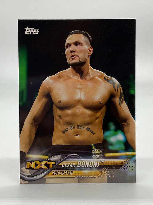 WWE Topps 2018 Then Now Forever Cezar Bononi #117 NM Wrestling Trading Card
