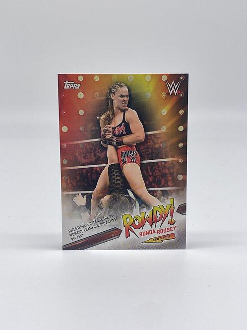 2019 Topps WWE Ronda Rousey Spotlight #31