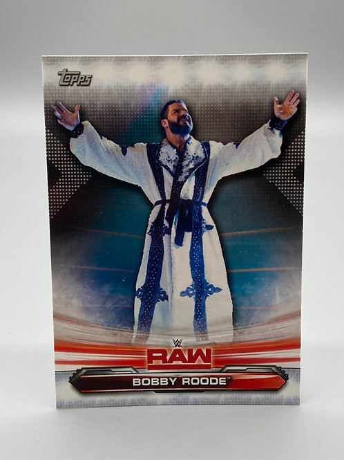 WWE Topps 2019 Raw Bobby Roode #10 NM Wrestling Trading Card