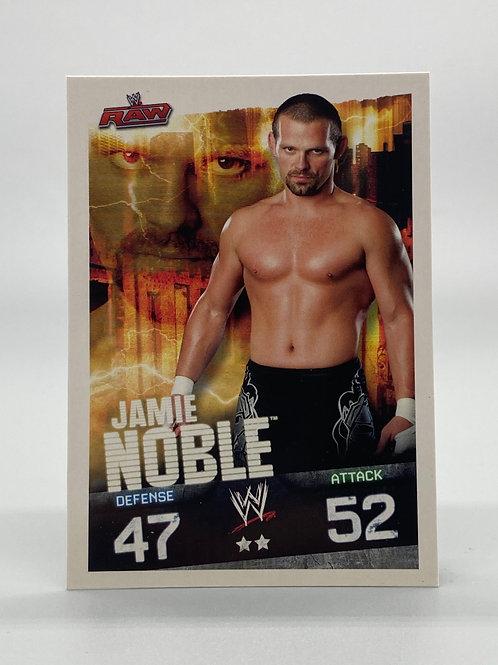WWE Topps 2009 Slam Attax Evolution Jamie Noble NM Wrestling Trading Card