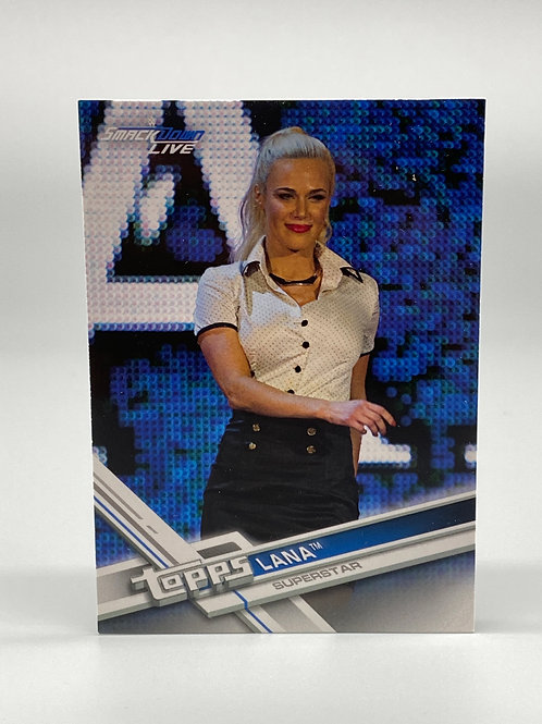 2017 Topps WWE Then Now Forever Lana #153
