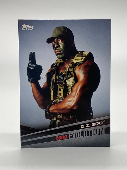 WWE Topps 2018 Evolution G.I. Bro #E-5
