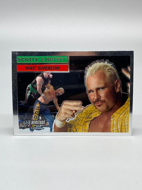 WWE Topps 2006 Chrome Heritage Scotty 2 Hotty #49