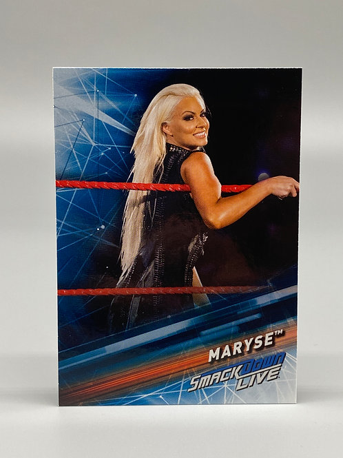 2019 Topps WWE Smackdown Live Maryse #34
