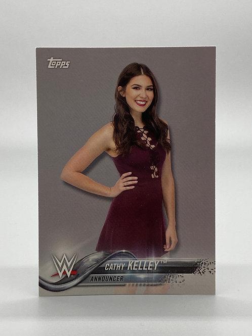 WWE Topps 2018 Cathy Kelley #21