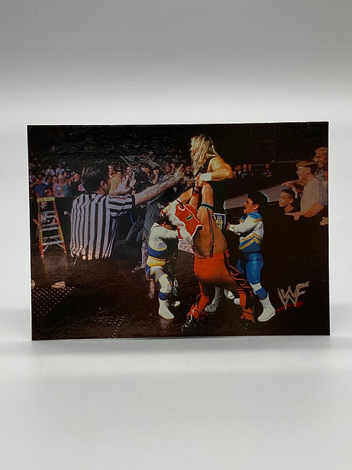 WWF Comic Images 2000 Al Snow vs Minis #69 NM Wrestling Trading Card