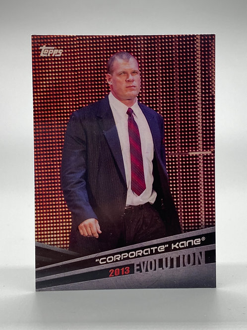"WWE Topps 2018 Evolution ""Corporate"" Kane #E-28"
