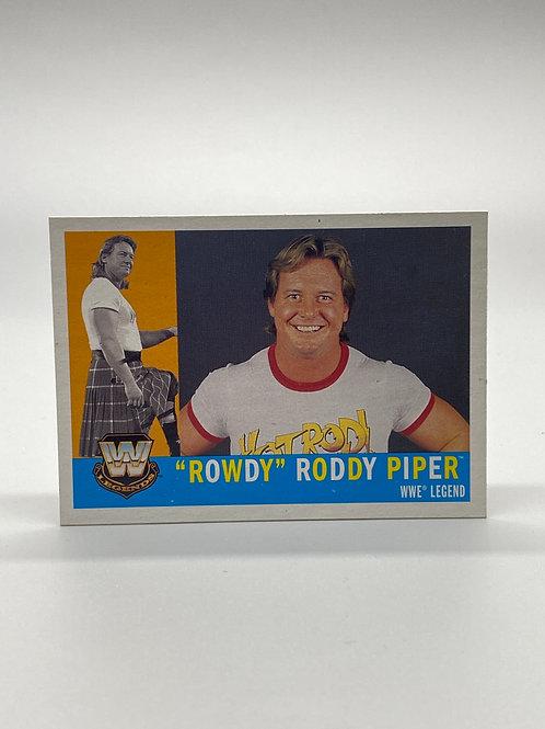 "WWE Topps Heritage 2005 ""Rowdy"" Roddy Piper #85"