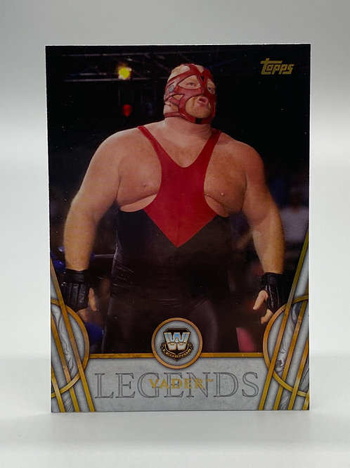 WWE Topps 2018 Legends of WWE Vader #53 NM Wrestling Trading Card
