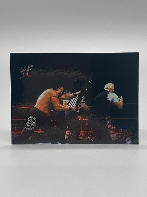WWF Comic Images 2000 Bradshaw #18 NM Wrestling Trading Card