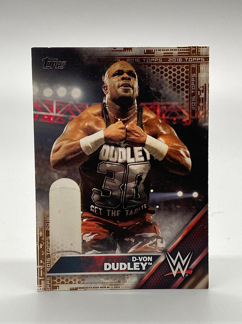 WWE Topps 2016 D-Von Dudley #17
