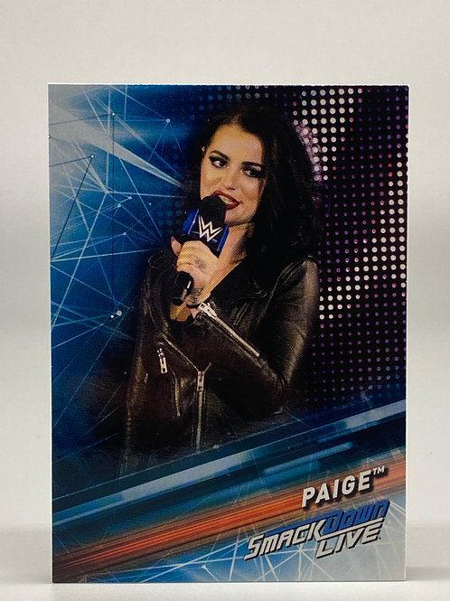 2019 Topps WWE Smackdown Live Paige #38