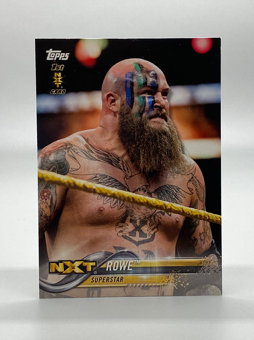 WWE Topps NXT Then Now Forever Rowe #166