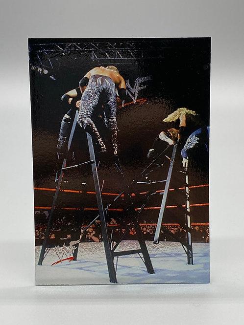 WWF Comic Images 2000 The Hardy Boyz / Edge / Christian #56