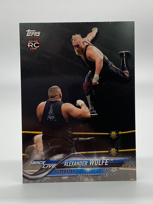 WWE Topps 2018 Then Now Forever Alexander Wolfe #104 NM Wrestling Trading Card