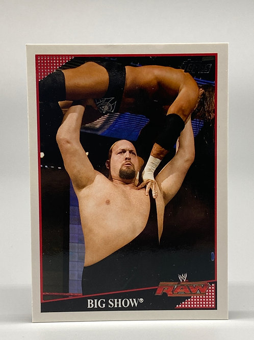 2009 Topps WWE The Big Show #12