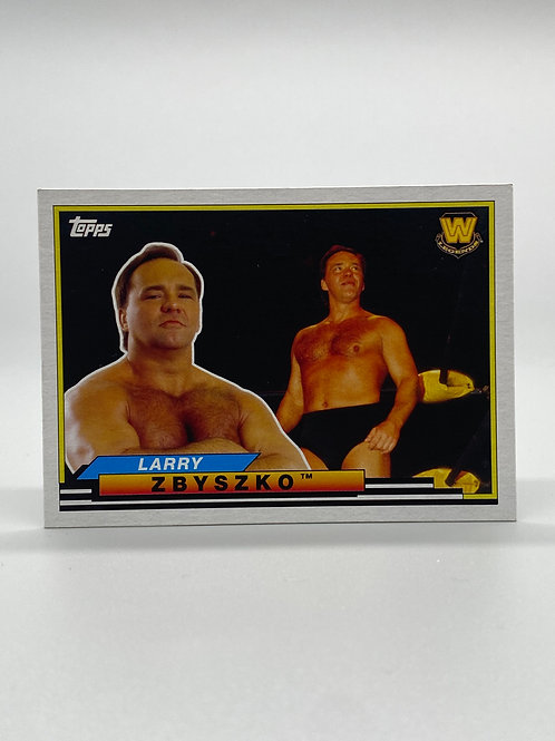WWE Topps 2018 Heritage Big Legends Larry Zbyszko #BL-29