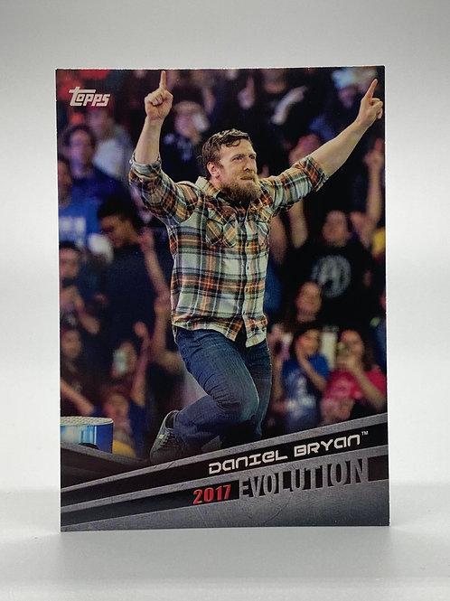 WWE Topps 2018 Evolution Daniel Bryan #E-14
