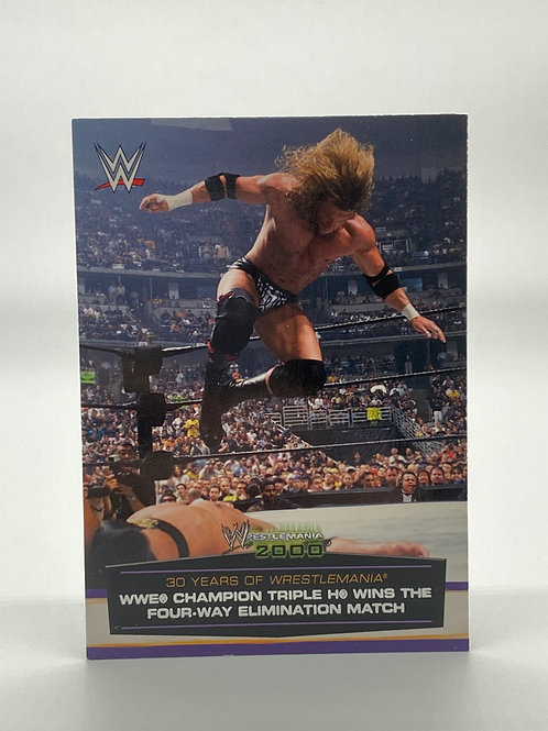 WWE Topps 2014 Road to Wrestlemania Triple H #32 of 60