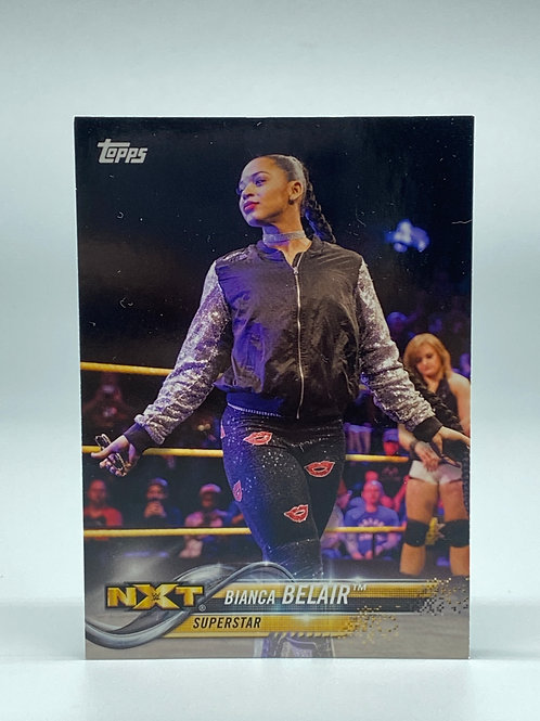2018 Topps WWE Then Now Forever Bianca Belair #109