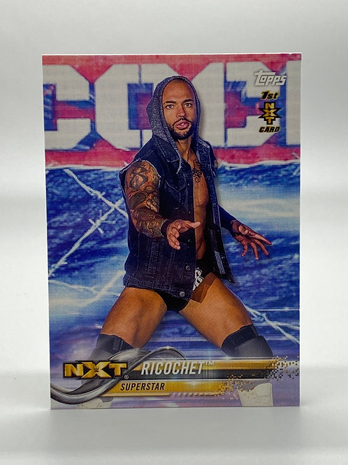 WWE Topps 2018 NXT Then Now Forever Ricochet #162