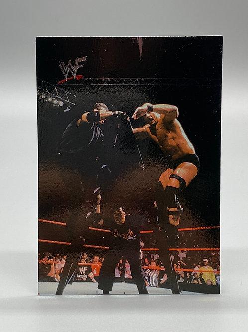 WWF Comic Images 2000 Stone Cold Steve Austin /Shane McMahon / Vince McMahon #65