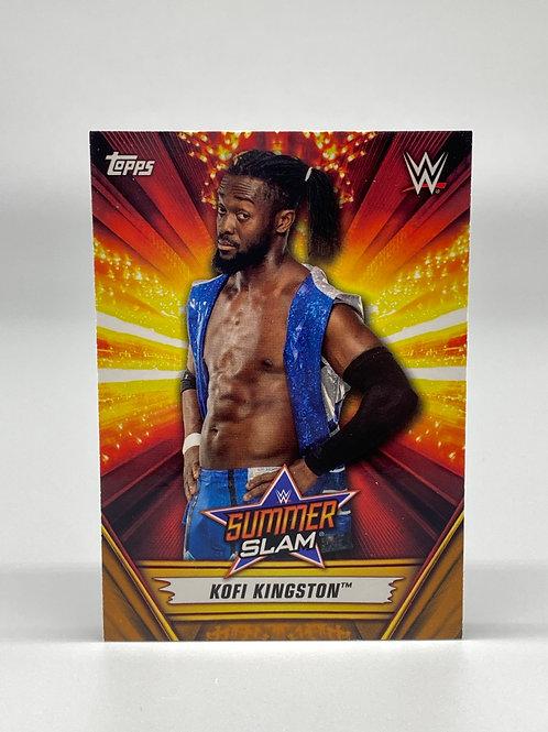 2019 Topps WWE Summerslam Kofi Kingston #35