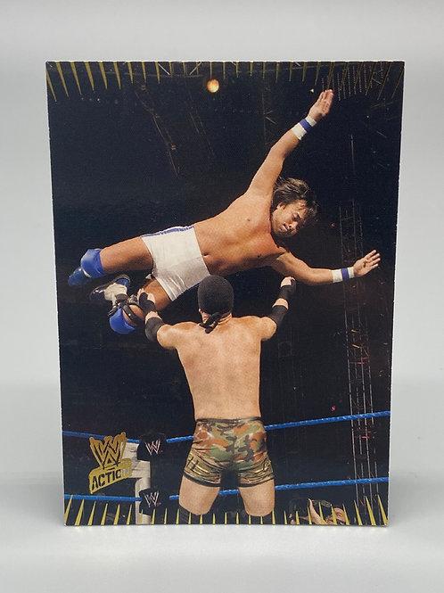 WWE Topps 2007 Action Funaki #37