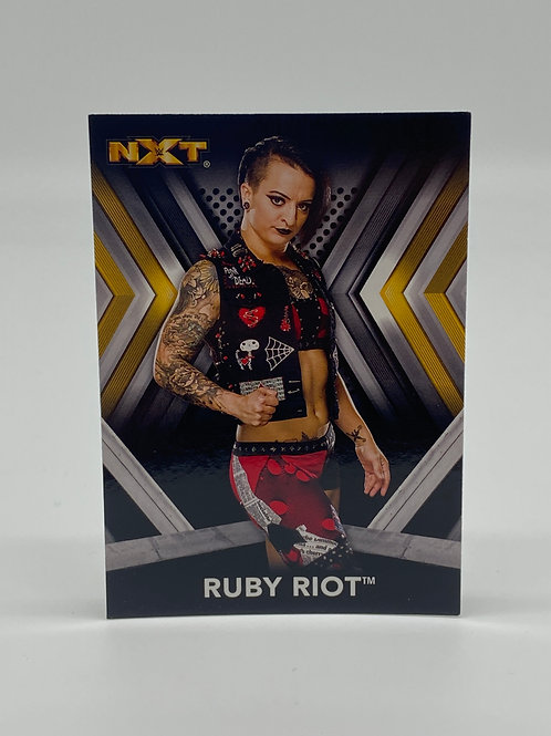 2017 Topps WWE NXT Ruby Riott #27