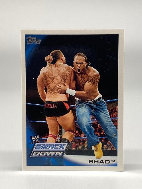 2010 Topps WWE Shad #53