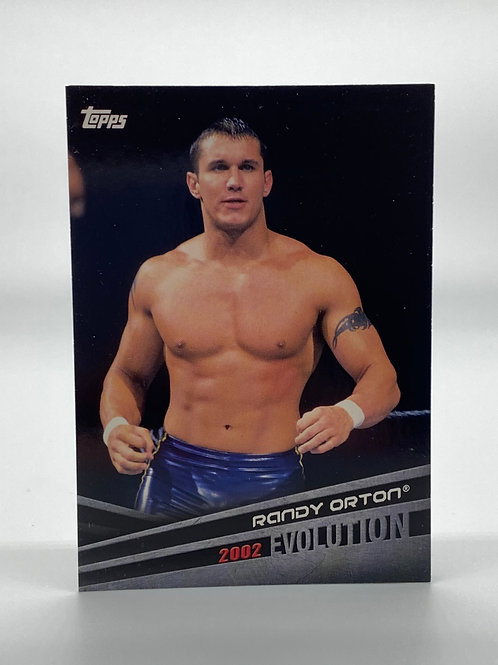 WWE Topps 2018 Evolution Randy Orton #E-39