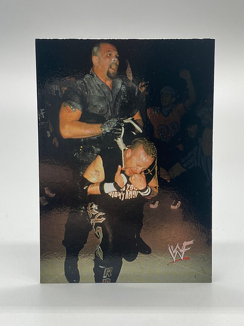 WWF Comic Images 2000 Big Boss Man #7 NM Wrestling Trading Card