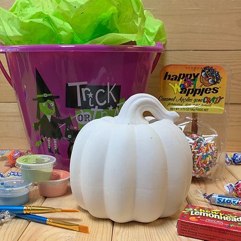 Halloween Painting Basket