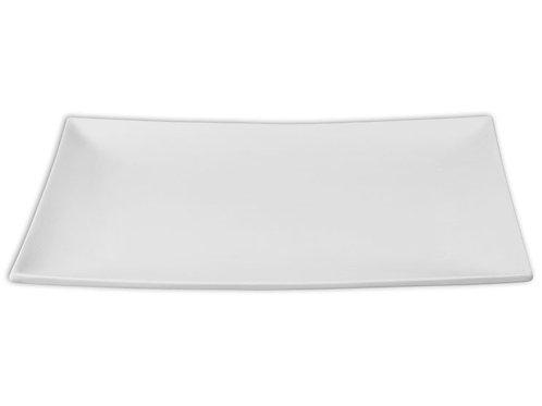 14x10 Rectangle Metro Coupe Platter