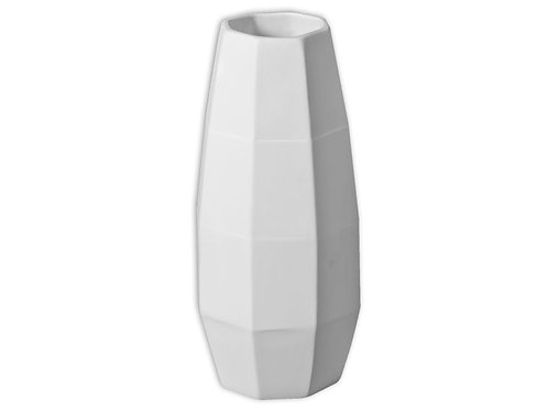 Faceted Tall Vase