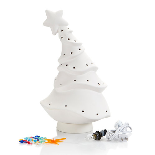 Animated Christmas Tree Light Up
