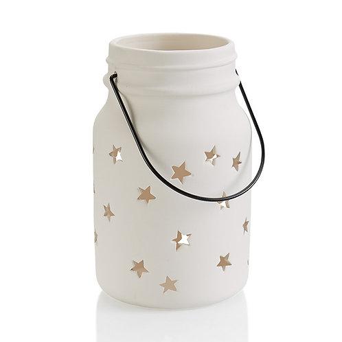 Mason Jar Star Lantern