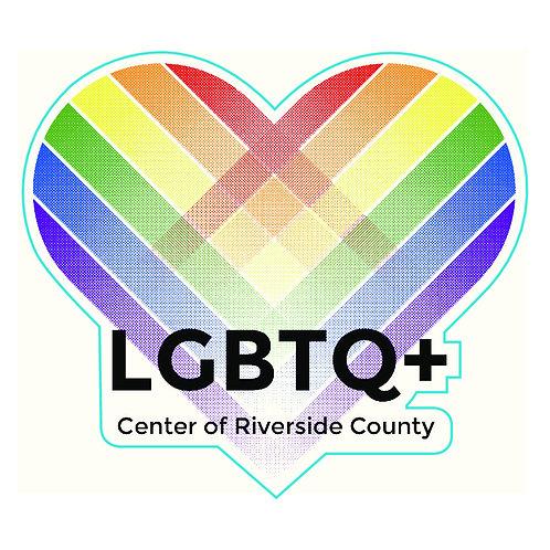 "4"" Center Logo Sticker"