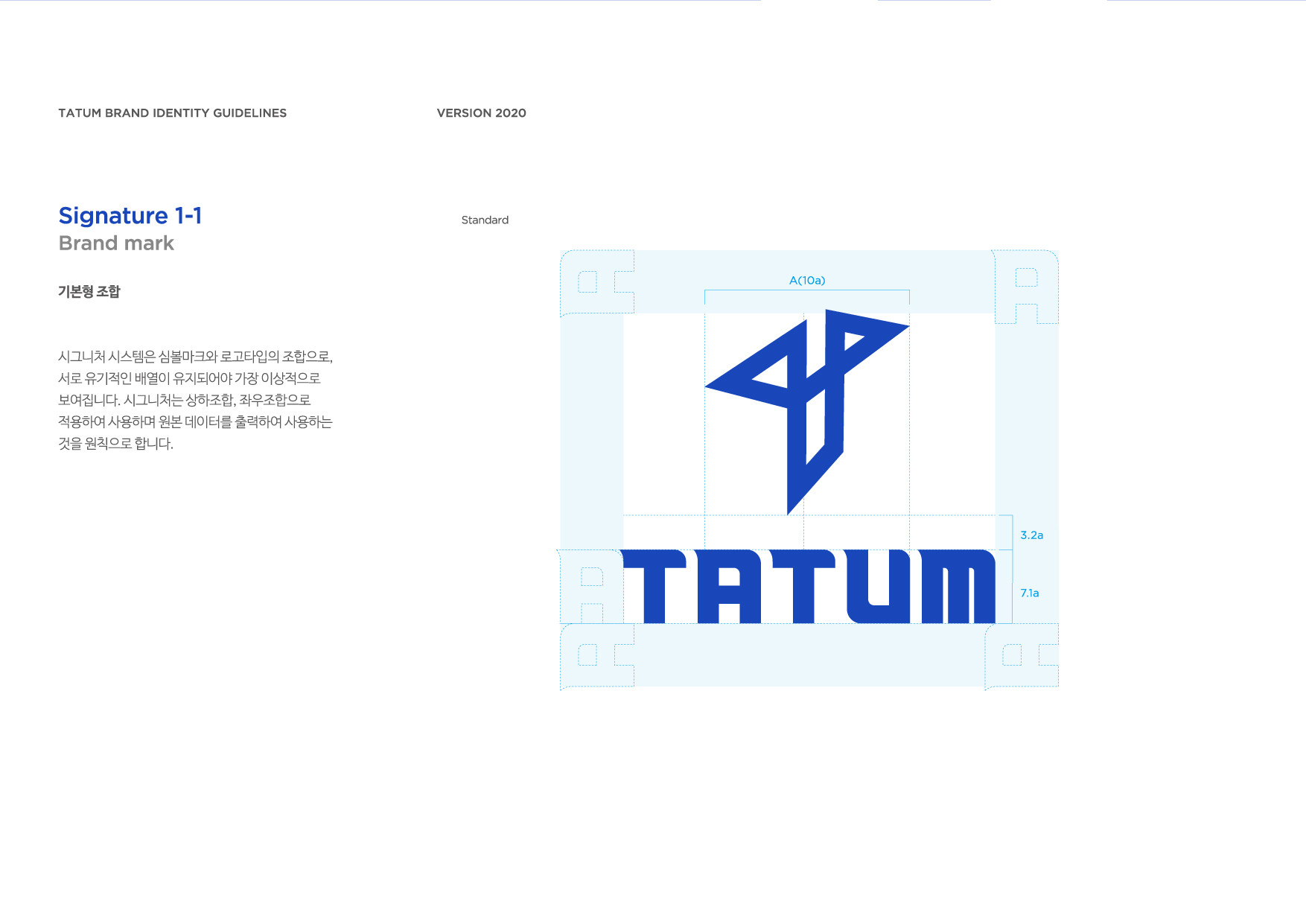 TATUM BI guidelines by brandmother 20071