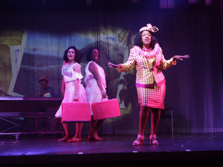 """Children's Theatre vet Brickey was a supporting-cast standout in Penumbra's Girl Shakes Loose,"