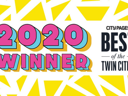 "City Pages names China Brickey ""Best Actor of 2020"" in ""Best of the Twin Cities 2020!"
