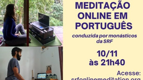 Meditação Online em  Português (10/11)